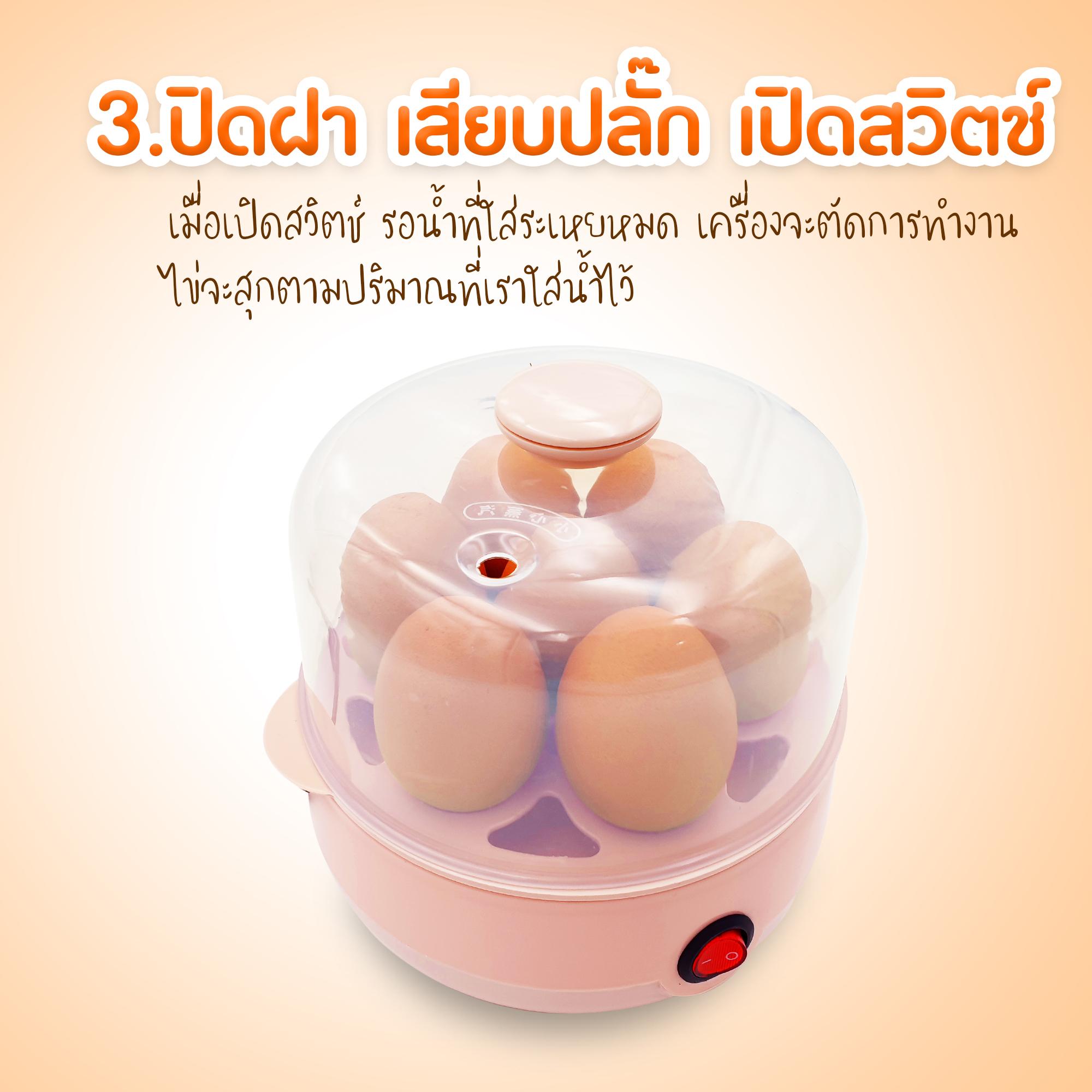 เครื่องต้มไข่, เครื่องนึ่งไข่, เครื่องต้มไข่ไฟฟ้า, เครื่องนึ่งไข่ออโต้